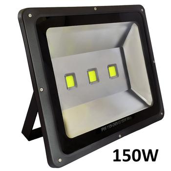 150W LED strålkastare 230V 15000 lumen