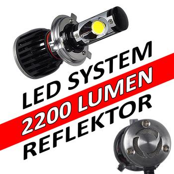 LED konvertering 2200 lumen plug and play