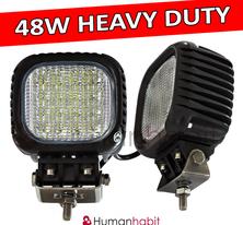 48W Heavy Duty LED arbetsbelysning CREE XBD 4-punkts upphängd