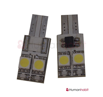 T10 Canbus med 4st 5050 SMD non-polarized