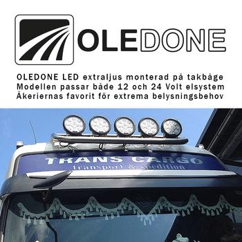 80W  LED extraljus CREE XM-L2 OLEDONE 9-50V