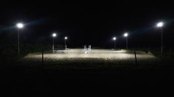 150W eller 200W 230 Volt LED strålkastare valbar med och utan rörelsesensor