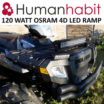 180W LED ramp Osram 4D optik E-mark EMC sidomonterad 885mm