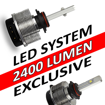 LED konvertering 2400 lumen CREE exclusive