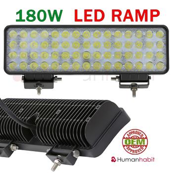 Kompakt LED ramp valbar 96, 120 och 180W för 12 och 24 Volt elsystem