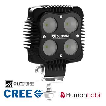 6 pack 40W CREE LED flerpack rabattköp OLEDONE® 9-50V