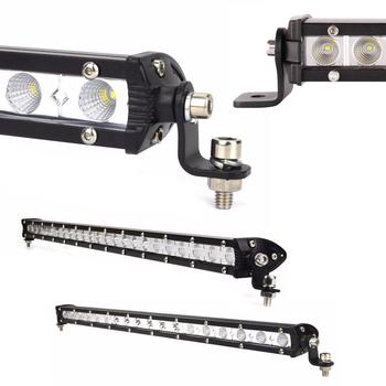 Mini LED extraljusramp COMBO valbar 54, 72, 90 och 108W 9-32V