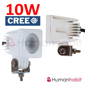 10W CREE LED arbetsbelysning , Vit