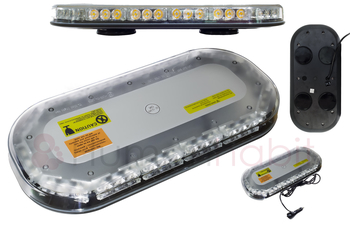 LED blixtljusramp 365mm ECE R10 R65 - BKL0005