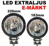 CREE LED extraljus valbar storlek 7 och 9 tum E-märkt