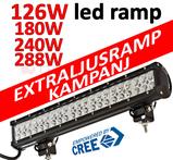 Valbar 126W- 180W- 240W- 288W LED ramp CREE 9-32V