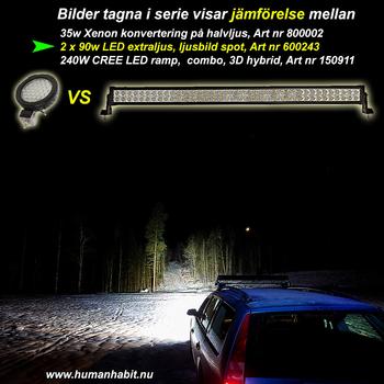 240W LED ramp COMBO CREE XB-D 9-30V 21600Lm