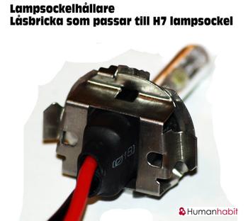 H7 låsbricka metall