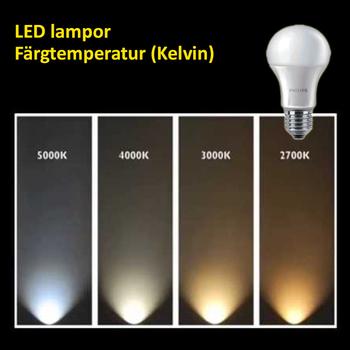 11 Watt Philips CorePro E27 LED lampa 2700 Kelvin 220V 1055 lumen motsvarar 75W