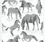 Handduk Hästar från EKELUND