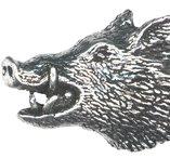 Vildsvinshuvud, Tennbrosch