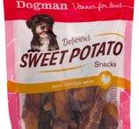 Dogman Sweet potato snacks 5-pack