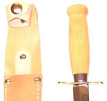 Scoutkniv 65 mm.