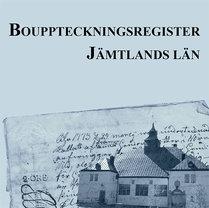 Bouppteckningsregister – Jämtlands län