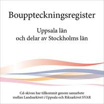 Bouppteckningsregister – Uppsala län och delar av Stockholms län