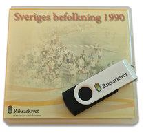 Sveriges befolkning 1990