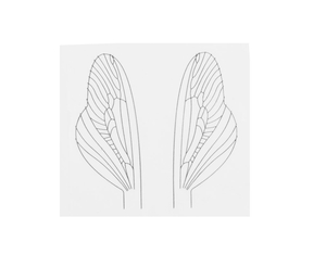 J:son Realistic Wing Material RWM U2