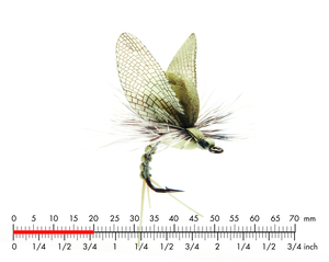 Mayfly Emerger 2 Light Olive