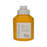 SENSE by Veda akrylfärg 500 ml - Saffron Yellow Shine # 012