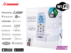 Chunghop WiFi-styrning för luftvärmepump och AC