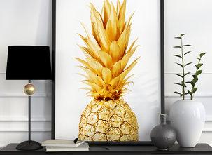 Poster  - Tavla - Pineapple