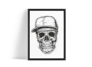 Dödskalle Poster