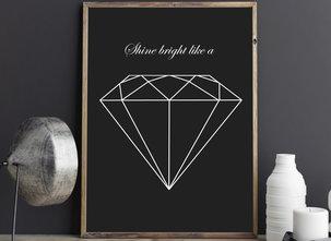 Poster  - Tavla - Diamond
