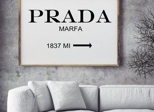 Poster  - Tavla - Marfa