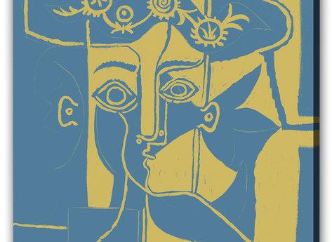 Abstrakt Tavla - Elinore