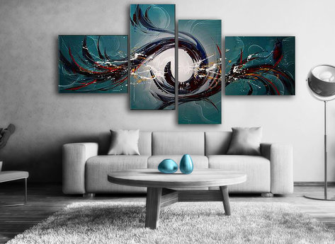 Abstrakt Phoenix Rises
