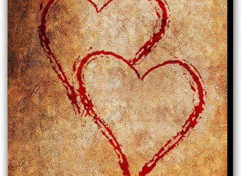 Tavlan Två hjärtan -Forever You