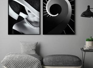 Poster - Black & White
