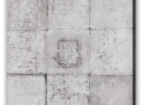Ljus Abstrakt Tavla - Square