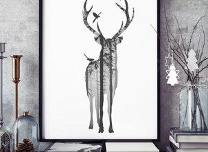 Poster  - Tavla - King