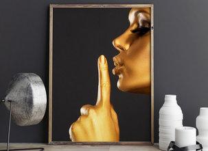 Poster  - Tavla - Shh!