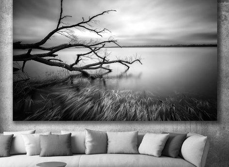 Fotokonst - Tavla - Sjön
