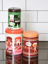 """Jar Set 3 pcs Ingela P Arrhenius """"Baka"""""""