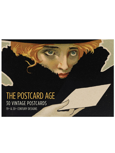 Bok/vykort The Postcard Age