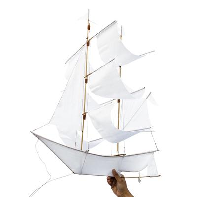 "Kite ""Sailing ship"" white"