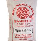 Pilsnermalt (Weyermann), krossad, 5 kg