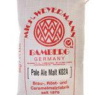 Pale ale malt (Weyermann), krossad, 5 kg