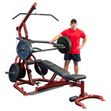 Body-Solid GLGS100 Corner Leverage Gym med GFID100