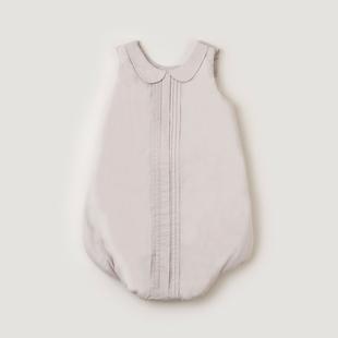 Pleats Gray Sleepbag