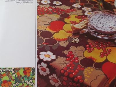 """Design Ulla Bodin """"Ulla"""" Almedahls 1976"""