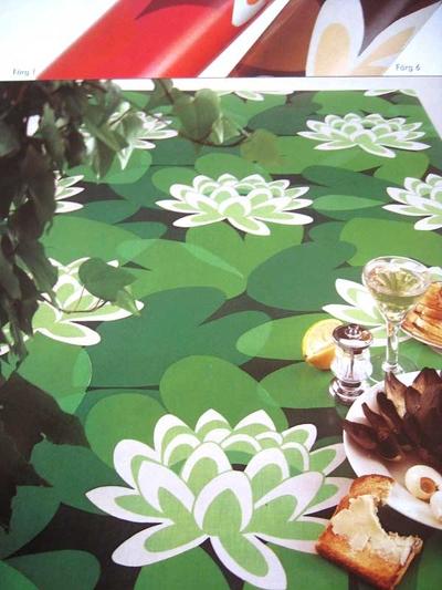 """Design M-L Bjerhagen """"Näcken"""" Almedahls 1974"""